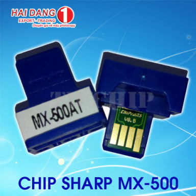 Chip mực máy photo sharp MX-500