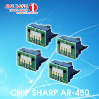 Chip mực máy photo sharp AR-455