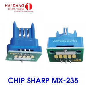 Chip mực máy photo sharp MX-235