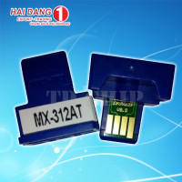 Chip mực máy photo sharp MX-312